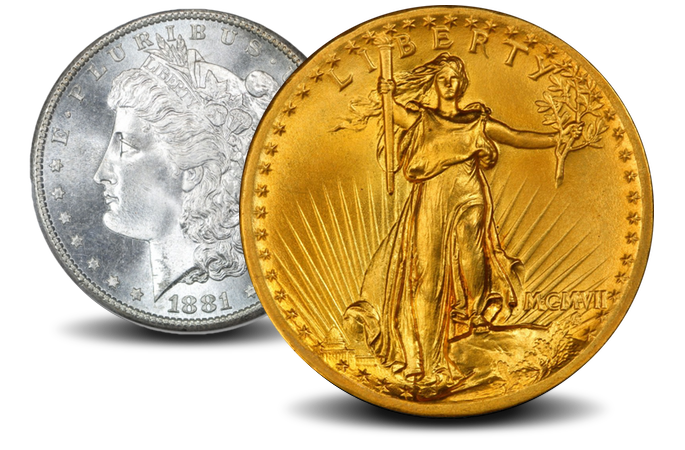 Value of Material purity and weight of a gold coin